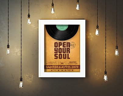 Communication pour le festival Open Your Soul