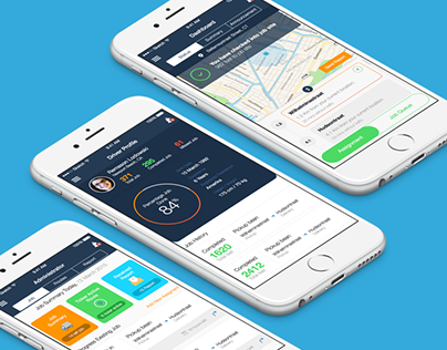 Driver Tracking Mobile Application