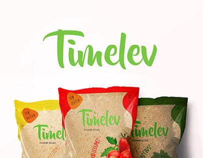 Timelev - projeto de embalagem