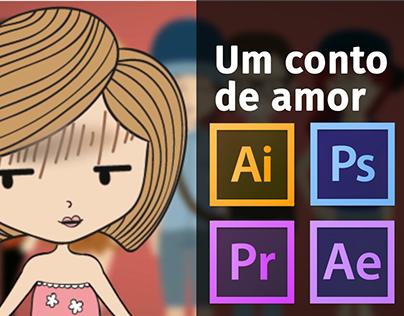 Um conto de amor (Animation with Motion Graphics)