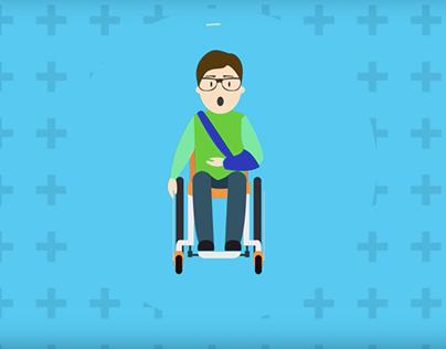 Video Animado 2D - Tramisalud botón transaccional