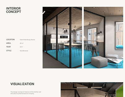 Concept of office design