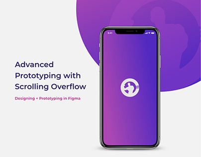 Designing + Advance Prototyping in Figma