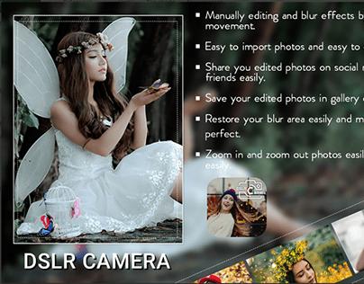 Blur Camera - HD DSLR camera