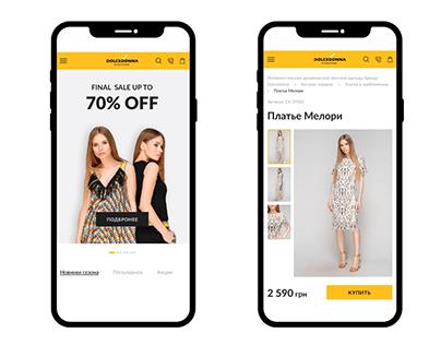 Dolcedonna.com.ua fashion online store