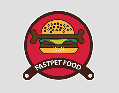 LOGO - Fast food meets pet food