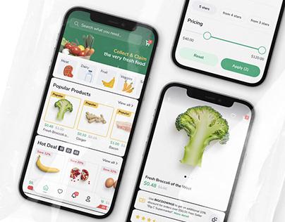 EC Grocery Mobile UI