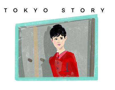 Yasujirō Ozu Tribute Illustrations