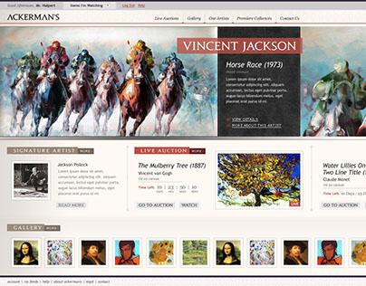 2010 - Ackerman's Art Auction