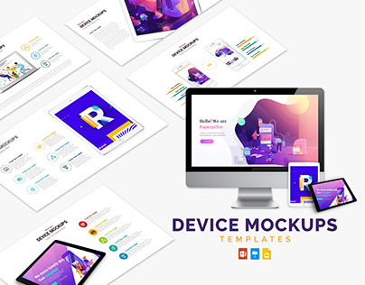 Unique Device Mockup Template