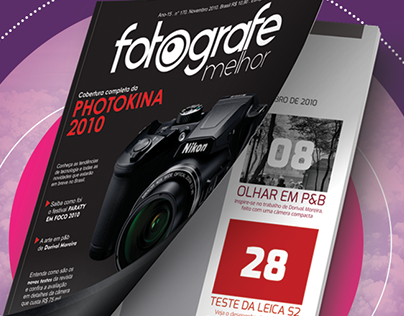 Revista Fotografe Melhor - Projeto Acadêmico