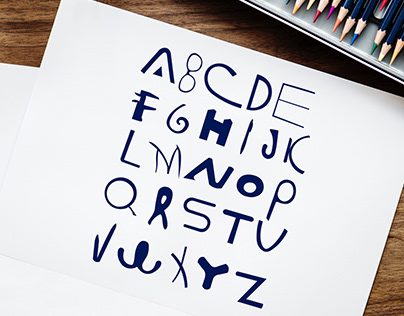 Alphabet around us | ABC Project