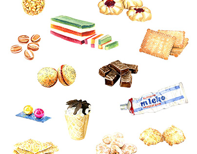 Sweets Illustrations | USTA Magazine
