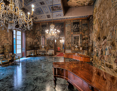 Interior Photography - Palazzo Mirto
