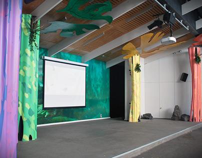 Wild Theatre Stage Dressing