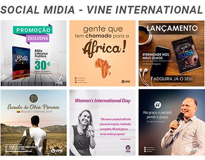 Social mida - Vine international