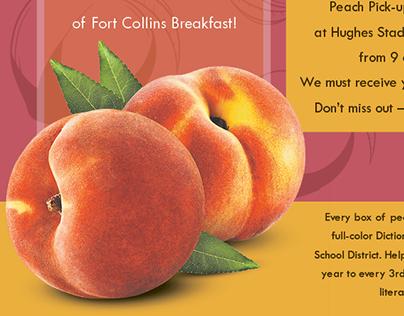 Rotary Peach Sale