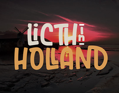 Licth In Holland Font
