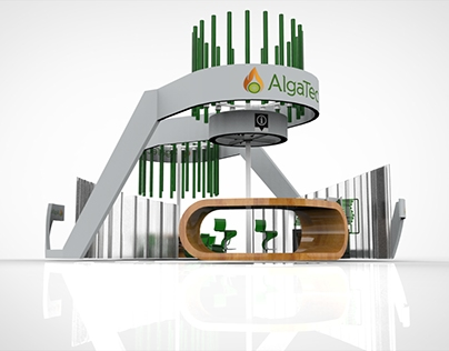 Propuesta Stand Algatec / Stand Design proposal Algatec