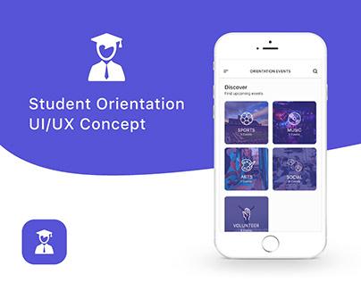 Student Orientation UI/UX App