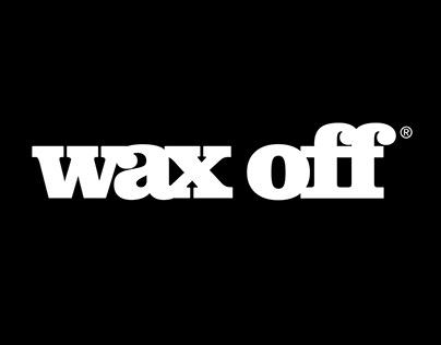 wax off_criação da marca, embalagens e web design