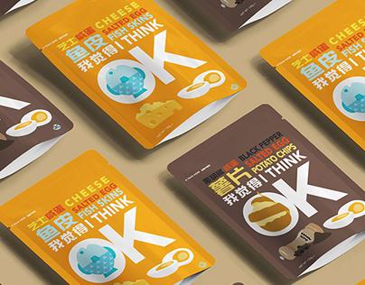 I THINK OK - Snack Packaging Design