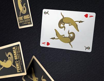 Fernet-Branca Bartender Playing Cards