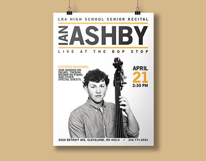Ian Ashby Concert Poster