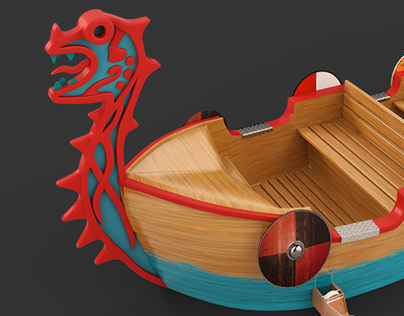 Dragon Wizard Boat concept