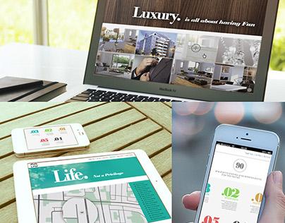 Mobile and Desktop Websites designed for EVOLVE studio