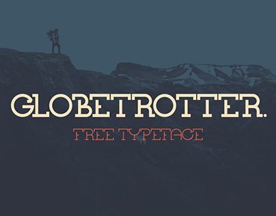 GLOBETROTTER // Free Display Typeface