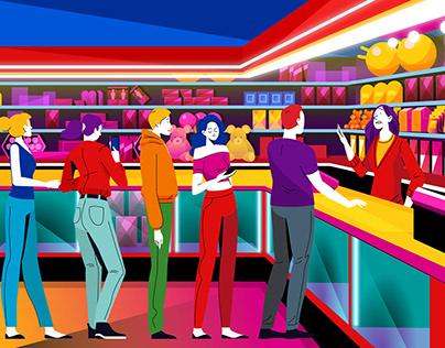 EMBED Arcade game card kiosks - Explainer