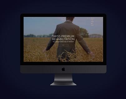 Web- and UX-Design | Swiss Premium Rehabilitation