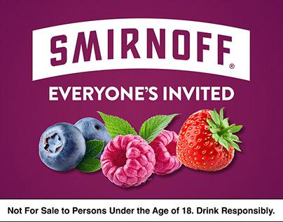 Smirnoff Bar Counter