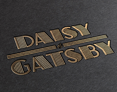The Great Gatsby Wedding Invitation Suite