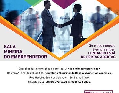 Prefeitura de Contagem - AD Sala Mineira do Empreendedo