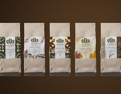 Coffee packaging & label