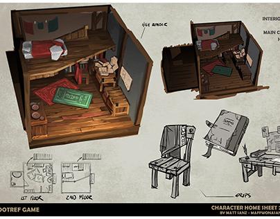 Rootref Game Concept Art