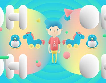 五月天《 派對動物 》Music Video Art concept