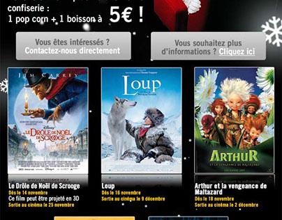 Newsletter Cinémas Gaumont