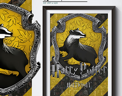 Poster Harry Potter Lufa Lufa