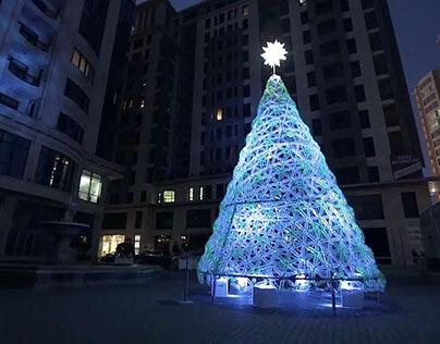 Baku New Year Tree, Azerbaijan