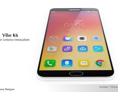 Lenovo Vibe K6 - Architect | Phone Designer