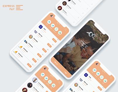 Express Pay app UI Design