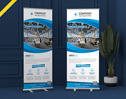 Creative Business Roll Up Banner