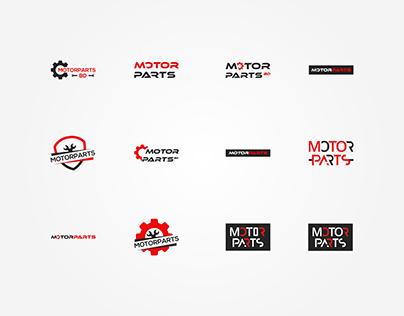 Logo Design Concepts For Motor Parts Shop