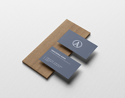 business card ANREAL ESTATE