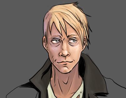 Character Illustration: Sullivan