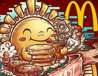Mcdonalds¨All day breakfast¨  Threadless.com contest