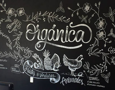 Orgánica | Mural project